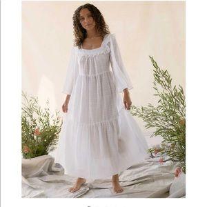 Christy Dawn Elodie Dress in Alabaster